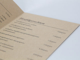 Catering leaflet